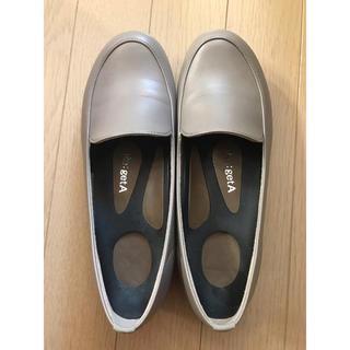 リゲッタ(Re:getA)のリゲッタ RLW1521  ローファー グレージュ(ローファー/革靴)