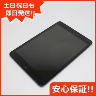 アップル(Apple)の超美品 iPad mini Wi-Fi16GB ブラック (タブレット)