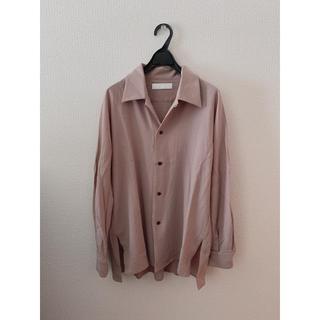 STUDIOUS - エトセンス ETHOSENS  19aw エンボスオープンカラーシャツ