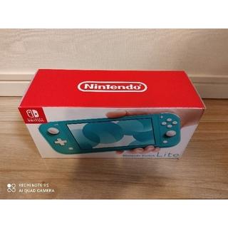 Nintendo Switch - 新品未開封 スイッチライト ターコイズ 本体 Switch Lite