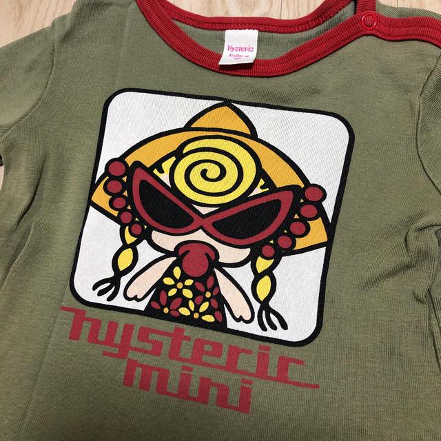 HYSTERIC MINI(ヒステリックミニ)のヒステリックミニ ロンT   90 キッズ/ベビー/マタニティのキッズ服男の子用(90cm~)(Tシャツ/カットソー)の商品写真