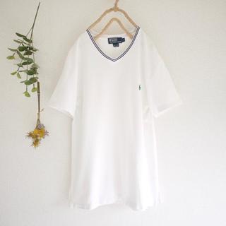 POLO RALPH LAUREN - Ralph Lauren■ワンポイント刺繍Vネックシャツ♡フォロ割-¥200