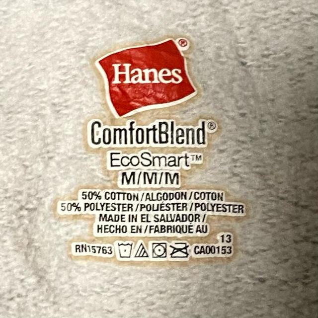Hanes(ヘインズ)の90s 古着 ヘインズ スウェット 刺繍プリント ビッグシルエット ゆるだぼ メンズのトップス(スウェット)の商品写真