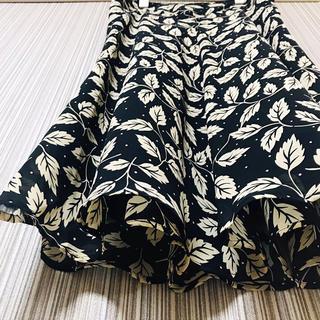 ヴァンドゥーオクトーブル(22 OCTOBRE)の《試着のみ・高見え》 定価¥12000円 22OCTOBRE シフォンスカート(ロングスカート)