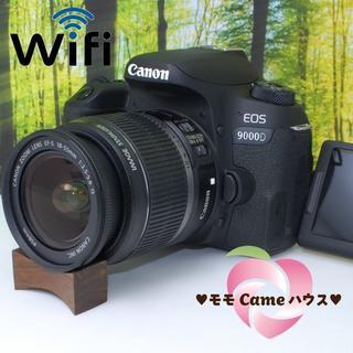 Canon - キヤノン 9000D★プレミアムな初心者向け一眼レフ♪1070