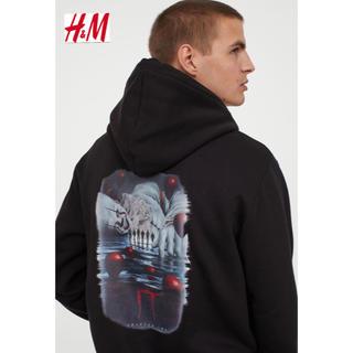 エイチアンドエム(H&M)の新品 安値 H&M × IT コラボ パーカー M(パーカー)