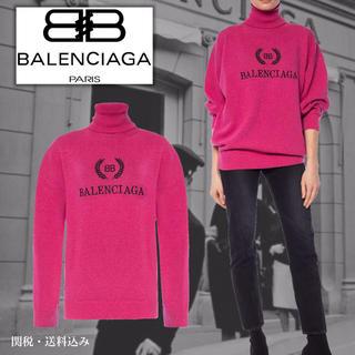 バレンシアガ(Balenciaga)のバレンシアガ 刺繡タートルネックセーター 新品 入手困難(ニット/セーター)