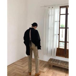 STUDIOUS - 【未使用タグ付き】Clane back slit shirt  M