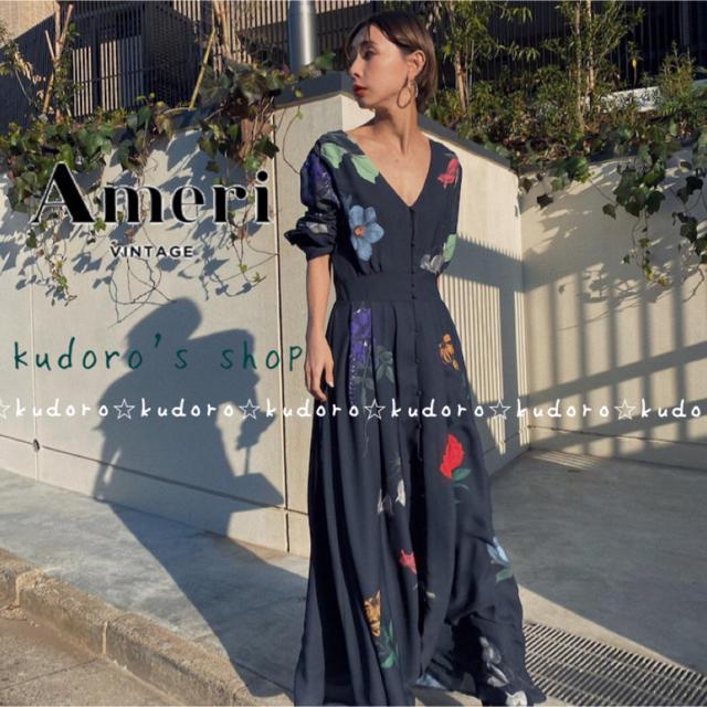 Ameri VINTAGE(アメリヴィンテージ)の⚠️お取り置き中⚠️■新品■ 2WAY AMANDA DRESS レディースのワンピース(ロングワンピース/マキシワンピース)の商品写真