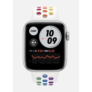 アップルウォッチ(Apple Watch)のApple Apple Watch Nike SE 44mm GPS シルバー(腕時計(デジタル))