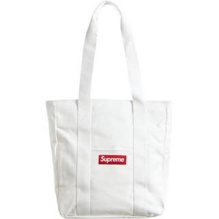 Supreme - 新品 supreme canvas tote 白 ホワイト シュプリーム