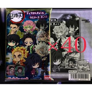 BANDAI - 鬼滅の刃 ディフォルメシール2 ウエハース 2 其ノ二 40個 (2BOX)