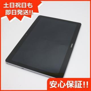 アンドロイド(ANDROID)の美品 MediaPad T3 10 Wi-Fiモデル スペースグレー (タブレット)