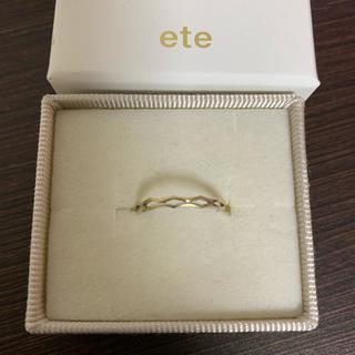 エテ(ete)のエテ K18 リング(リング(指輪))