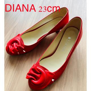 DIANA - 【美品】ダイアナ パンプス 23cm 赤