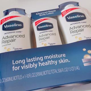 Vaseline - ヴァセリン アドバンスドリペア ボディローション 3本セット