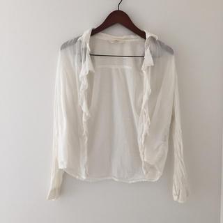 ギャルフィット(GAL FIT)のゆるシャツ♡白(シャツ/ブラウス(長袖/七分))