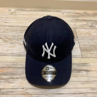 ニューエラー(NEW ERA)の【新品未使用】MOMA new era NY yankees cap navy(キャップ)