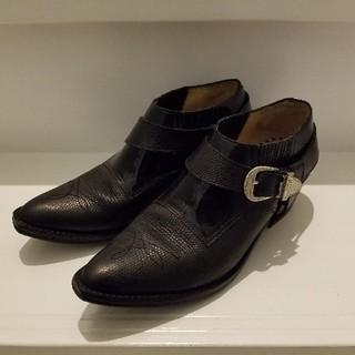 トーガ(TOGA)のTOGA ショートブーツ 黒 38(ブーツ)