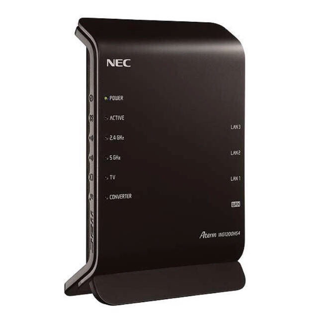 NEC(エヌイーシー)のNEC Aterm PA-WG1200HS4 ルーター スマホ/家電/カメラのPC/タブレット(PC周辺機器)の商品写真