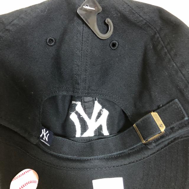 47 ニューヨーク ヤンキース キャップ 帽子  ブラック メンズの帽子(キャップ)の商品写真