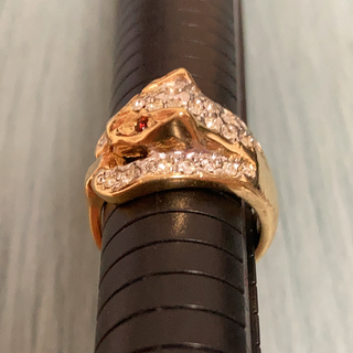 ロキエ(Lochie)のヴィンテージ 豹のリング(リング(指輪))