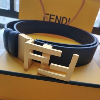 FENDI - 送料無料 「フェンディ」 ベルト ブラック 110CM