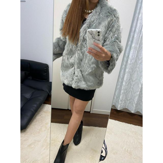 WEGO(ウィゴー)の新品♡綺麗めファージャケット/Rady セシルマクビー リップサービス リエンダ レディースのジャケット/アウター(毛皮/ファーコート)の商品写真