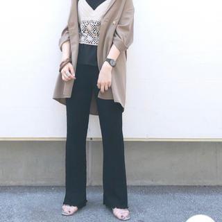 カスタネ(Kastane)の新品❁カスタネ ふくれジャガード カットパンツ(カジュアルパンツ)