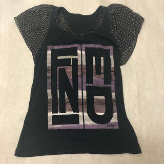 フェンディ(FENDI)のFendi tee see-through rare(Tシャツ(半袖/袖なし))