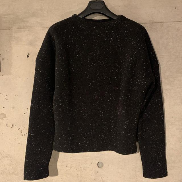 Jil Sander(ジルサンダー)のJIL SANDER ジルサンダー brown boatneck ニット メンズのトップス(ニット/セーター)の商品写真
