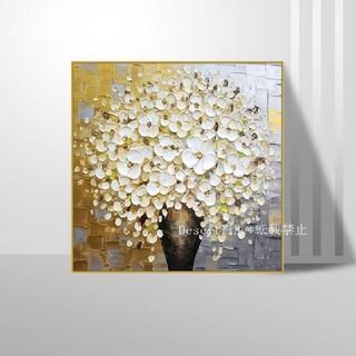 純粋な手描きの絵画 花 応接間掛画 玄関飾り 廊下壁画\