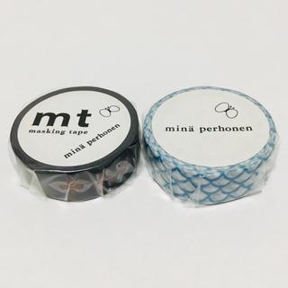 mina perhonen - ミナペルホネン  マスキングテープ  2個セット