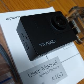 Goproもどき4kアクションカメラ apeman A100 trawo