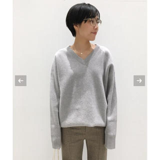 L'Appartement DEUXIEME CLASSE - L'Appartement Middle gauge V/N KNIT グレー