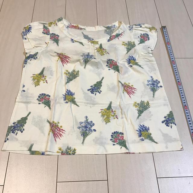手作りブラウス レディースのトップス(シャツ/ブラウス(半袖/袖なし))の商品写真