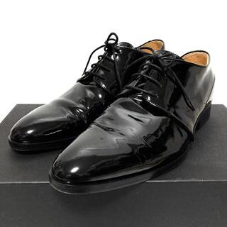 RAF SIMONS - RAF SIMONS ラフシモンズ エナメルシューズ 革靴 41 レザーシューズ