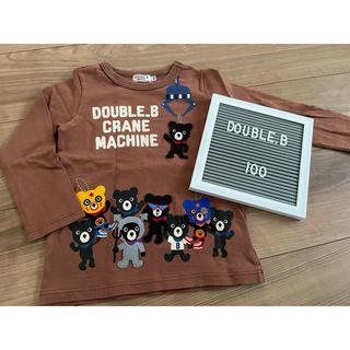 DOUBLE.B - DOUBLE.B トップス Tシャツ 100