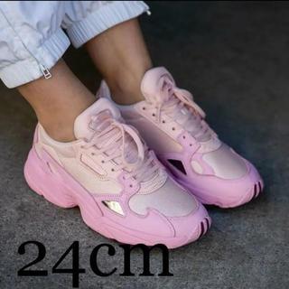 adidas - アディダス ファルコン ピンク 24cm  EF1994