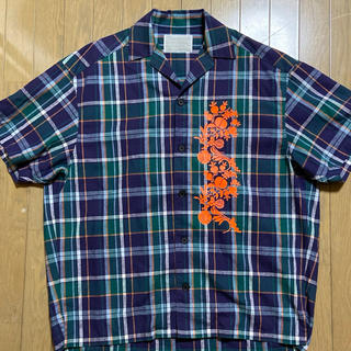 kolor - 明日までの値下げ、その後は販売終了 kolor 2020 SS  ルーズシャツ