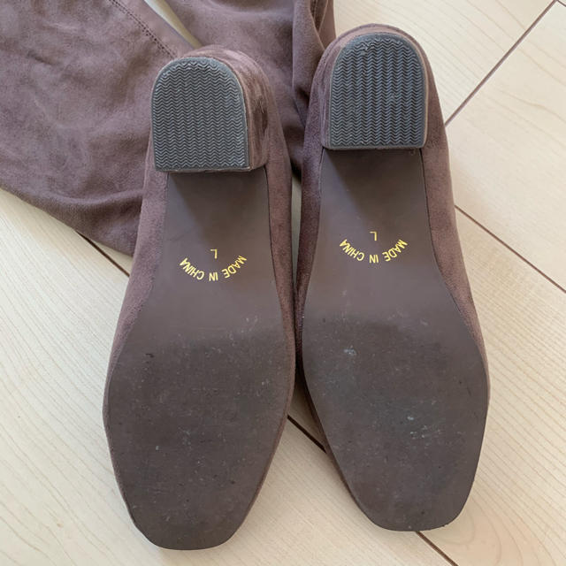 who's who Chico(フーズフーチコ)のwho's who chico ニーハイブーツ レディースの靴/シューズ(ブーツ)の商品写真