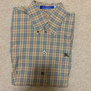 BURBERRY - バーバリー 定番チェックシャツ レディース