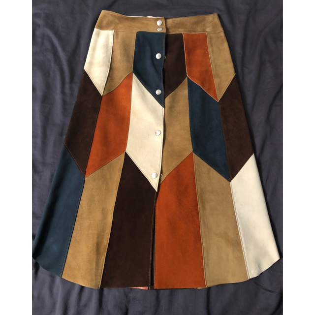 Ron Herman(ロンハーマン)のFUMIKA UCHIDA ファーストコレクション スエードスカート レディースのスカート(ひざ丈スカート)の商品写真