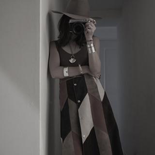 ロンハーマン(Ron Herman)のFUMIKA UCHIDA ファーストコレクション スエードスカート(ひざ丈スカート)
