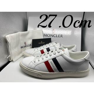 MONCLER - 【新品/即日発送】モンクレール / MONCLER ホワイト スニーカー