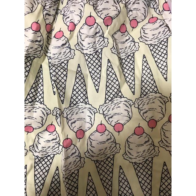 franche lippee(フランシュリッペ)の新品 フランシュリッペ アイスクリーム柄スカート レディースのスカート(ひざ丈スカート)の商品写真
