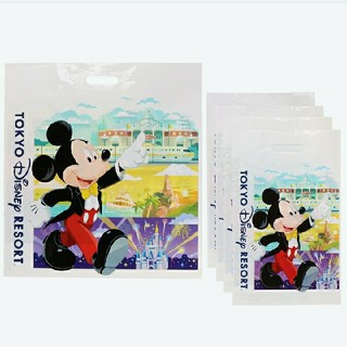 Disney - 東京ディズニーリゾート限定品 ショップ袋Lサイズ3枚 Mサイズ12枚 お買い物袋