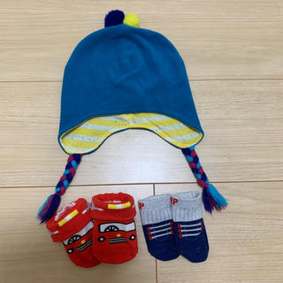 Branshes - ベビー帽子+靴下2足 3点セット