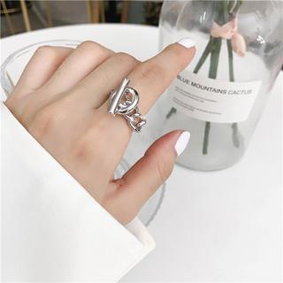 トゥデイフル(TODAYFUL)のシルバー チェーンリング 韓国 プチプラ(リング(指輪))