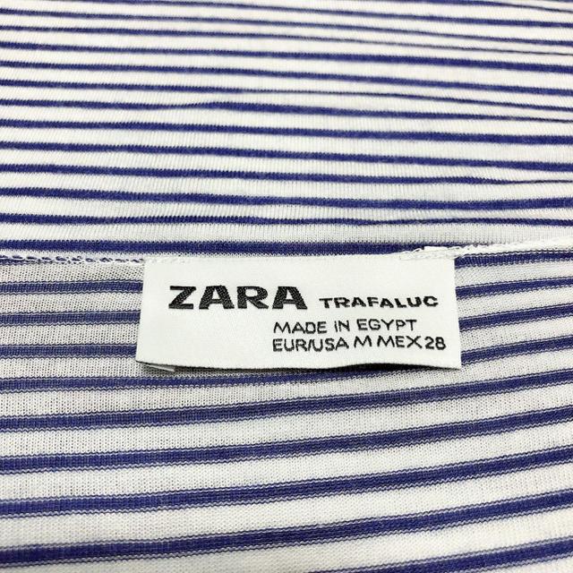 ZARA(ザラ)のZARA ボーダー タンクトップ カットソー♡ベルシュカ H&M SLY レディースのトップス(タンクトップ)の商品写真